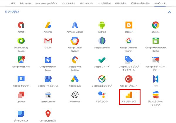 Googleアナリティクスログイン6
